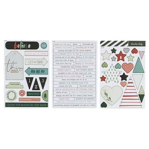 Picture of December Daily® 2019 Chipboard Bundle 2