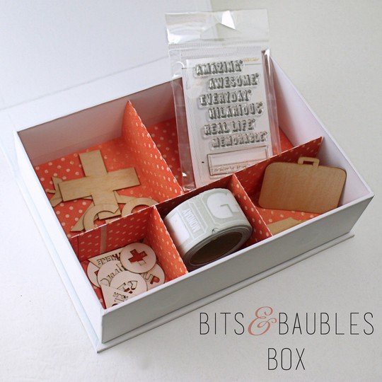 Project life bits   baubles box