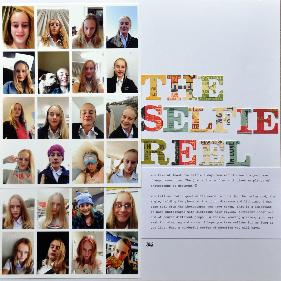 The selfie reel smaller original