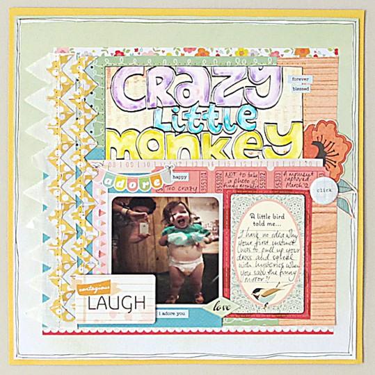 Crazy little monkey