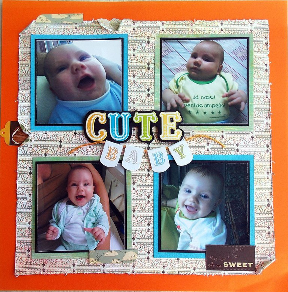Cute baby menor original