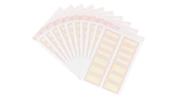 105779 4x6colortheorylabelstickerpinklemonadescallop10pack slider original