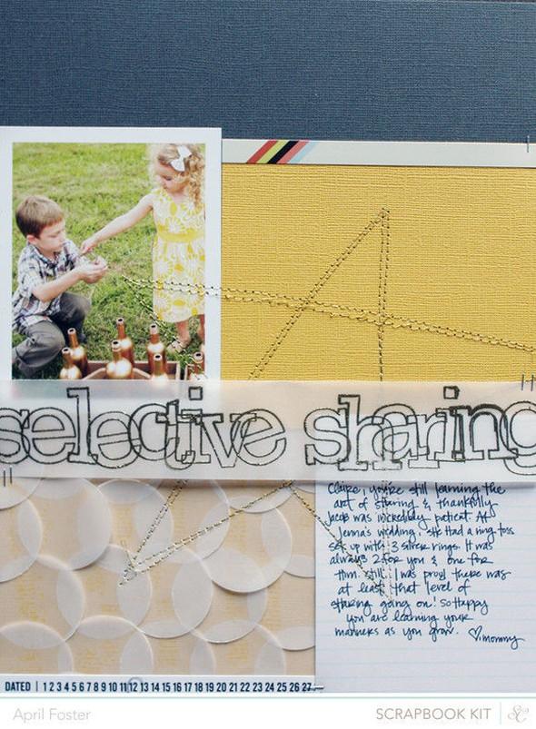 Selective sharing