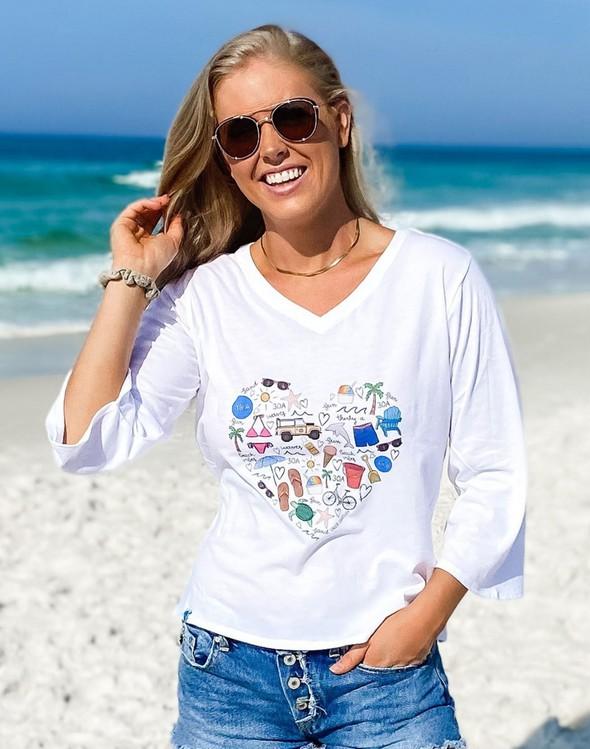 152480 beachlovebycalliedaniellev neckbellsleeveteewhite women slider1 original