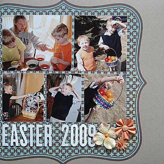 Easter 2009 rowan