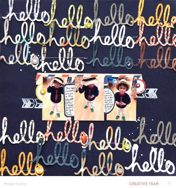 Hello hello by paige evans