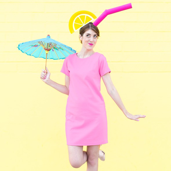 Pink dress product listing costume photo original