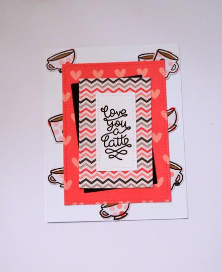 Latte love card original