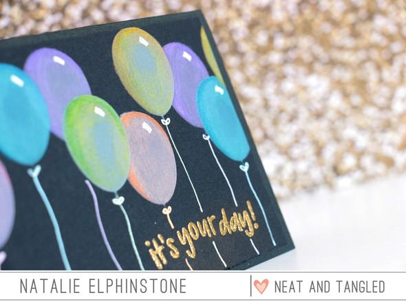 Balloon card detail original