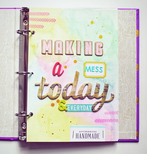 Making a mess