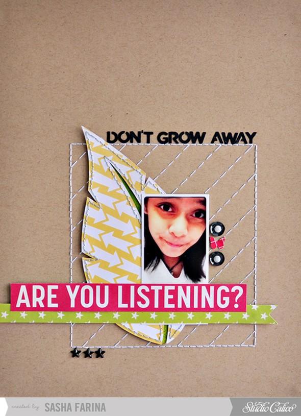 Dont grow away