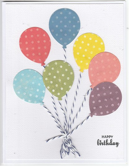 Happy birthday balloons original