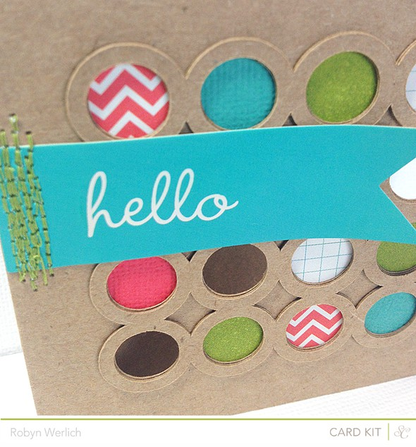 C hello closeup card kit only
