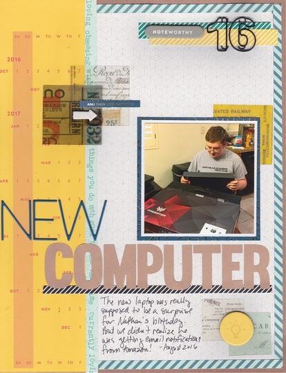 New computer original