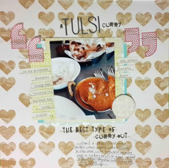 A tulsi curry