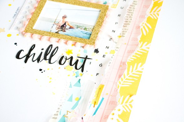 Chillout scatteredconfetti scrapbooking layout cratepaper citrustwistkits sugarland 4 original