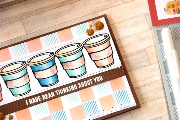 Coffee card dimension original