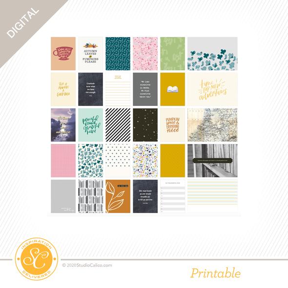 Ns118572 digital bookworm journal cards a side preview original