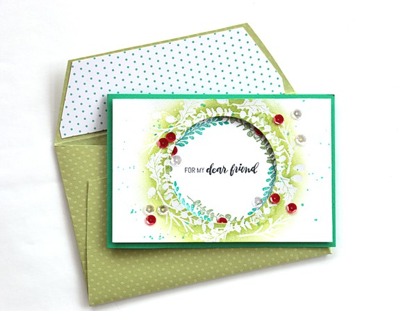 Dear friend envelope by natalie elphinstone original