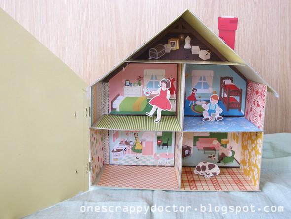 Doll house inside