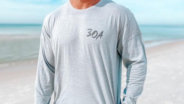 129468 sketched beach long sleeve tee   men   ash slider3 original