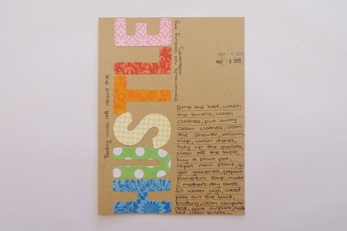 Inspired life with jess art journal words 1 original