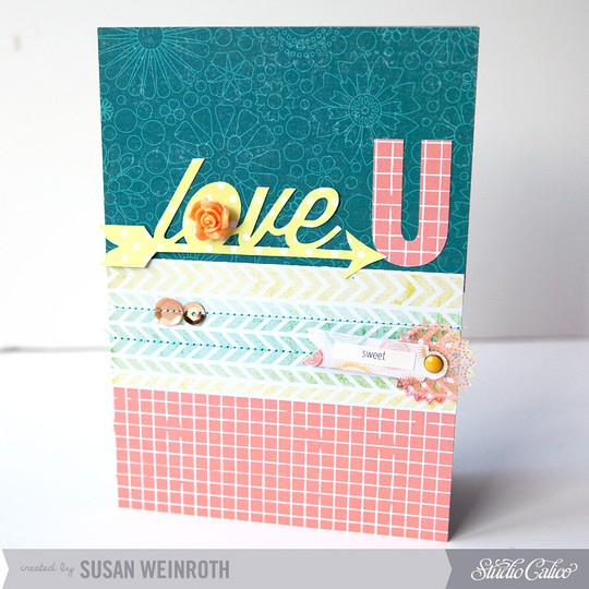 7   love u card   susan weinroth