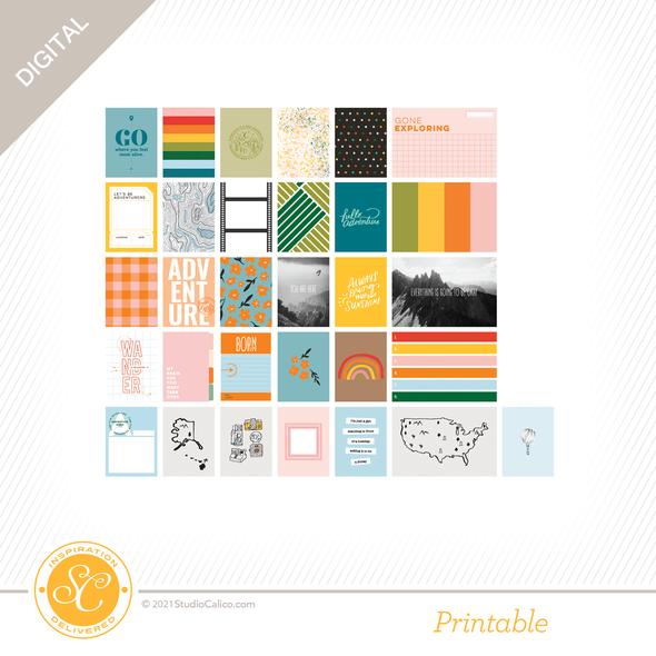 T12537 digital hello adventure journal cards side a preview original