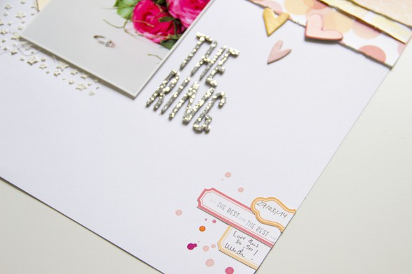 Thering scatteredconfetti scrapbooking layout websterspages americancrafts mixedmedia 4 original