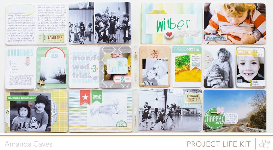 Studio calico project life week 3
