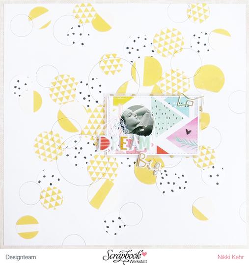 Layout   dream big by nikki sweet caterpillar original