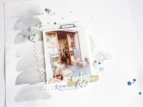 Enjoy scatteredconfetti scrapbooking layout pinkfreshstudio apli 2 original