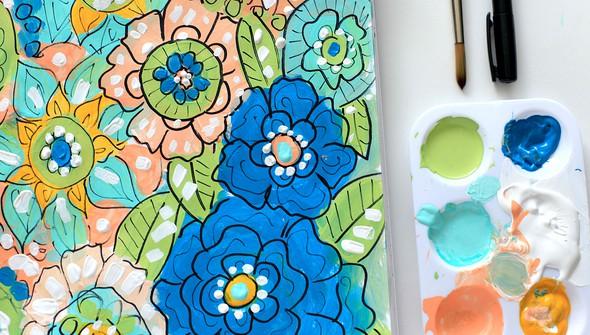 Smitha katti hand drawn florals5 original