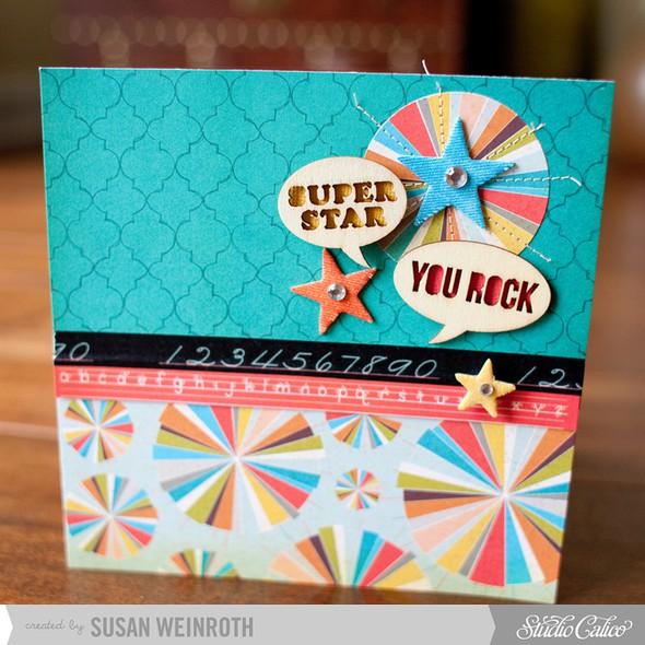 You rock card   sept