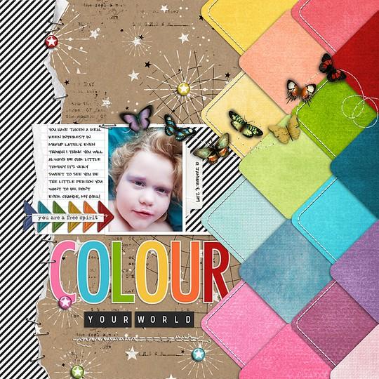 Colour your world original