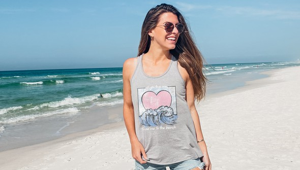 155444 if you love me take me to the beach tank top women ash slider1 original