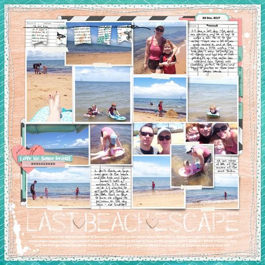 Last beach escape original