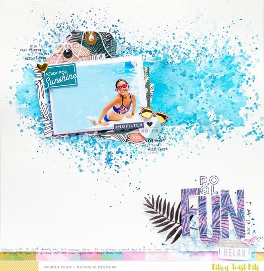 Ctk pool fun nathalie desousa 2 original