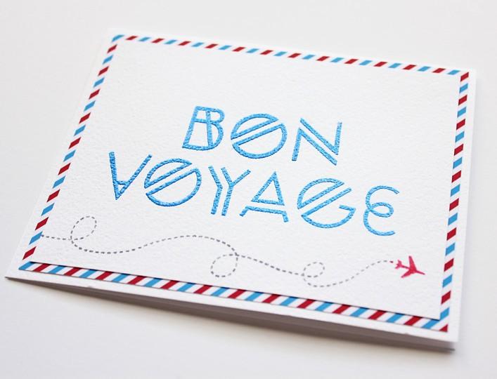 Bon voyage alpha detail original