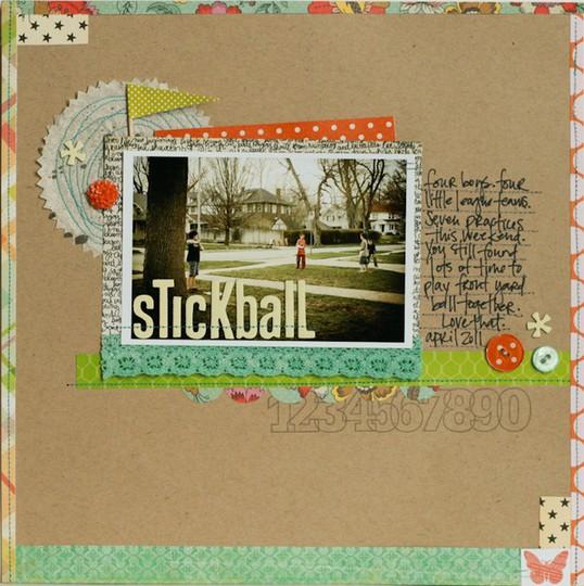Stickball