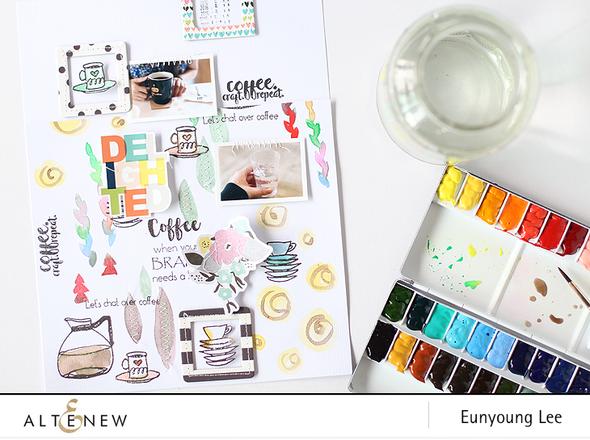Altenew coffeelove layout003 original
