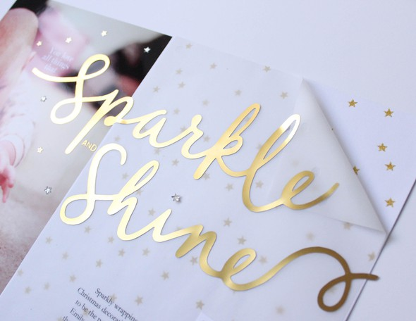 Sparkle and shine title