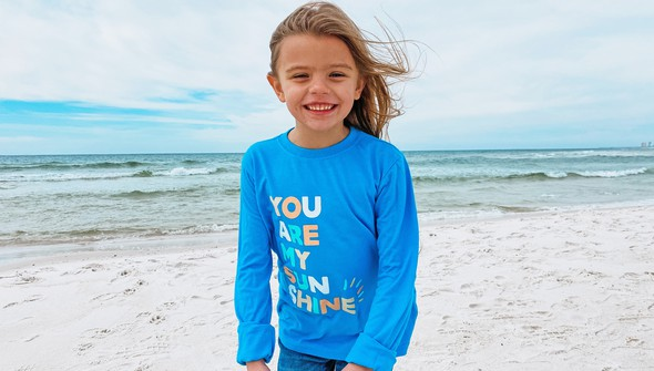 134235 you are my sunshine long sleeve tee kids 30a blue slider2 original
