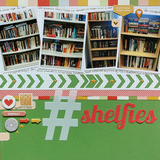 Shelfies by jennifer larson