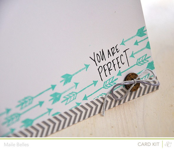 You are perfect card detail