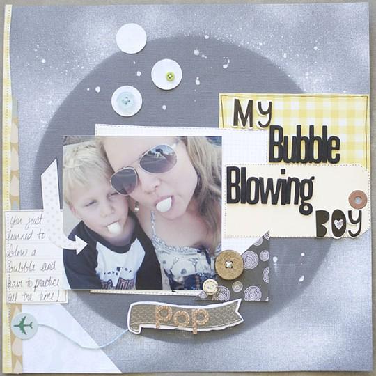 Bubbleblowingboy