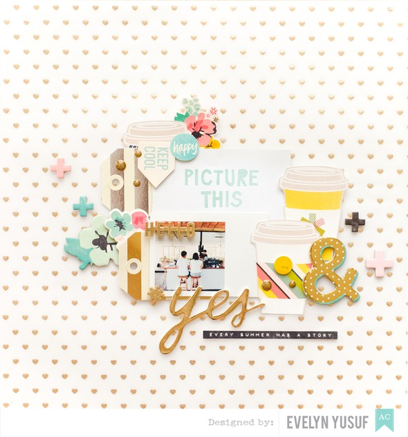 Picture this full layout by evelynpy original