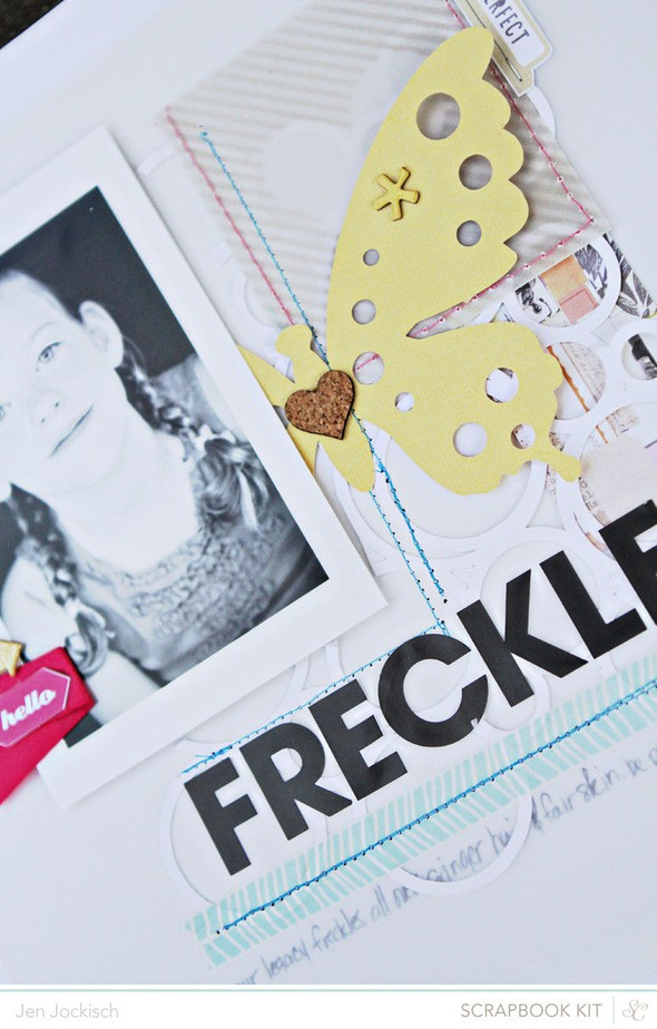 Freckles detail