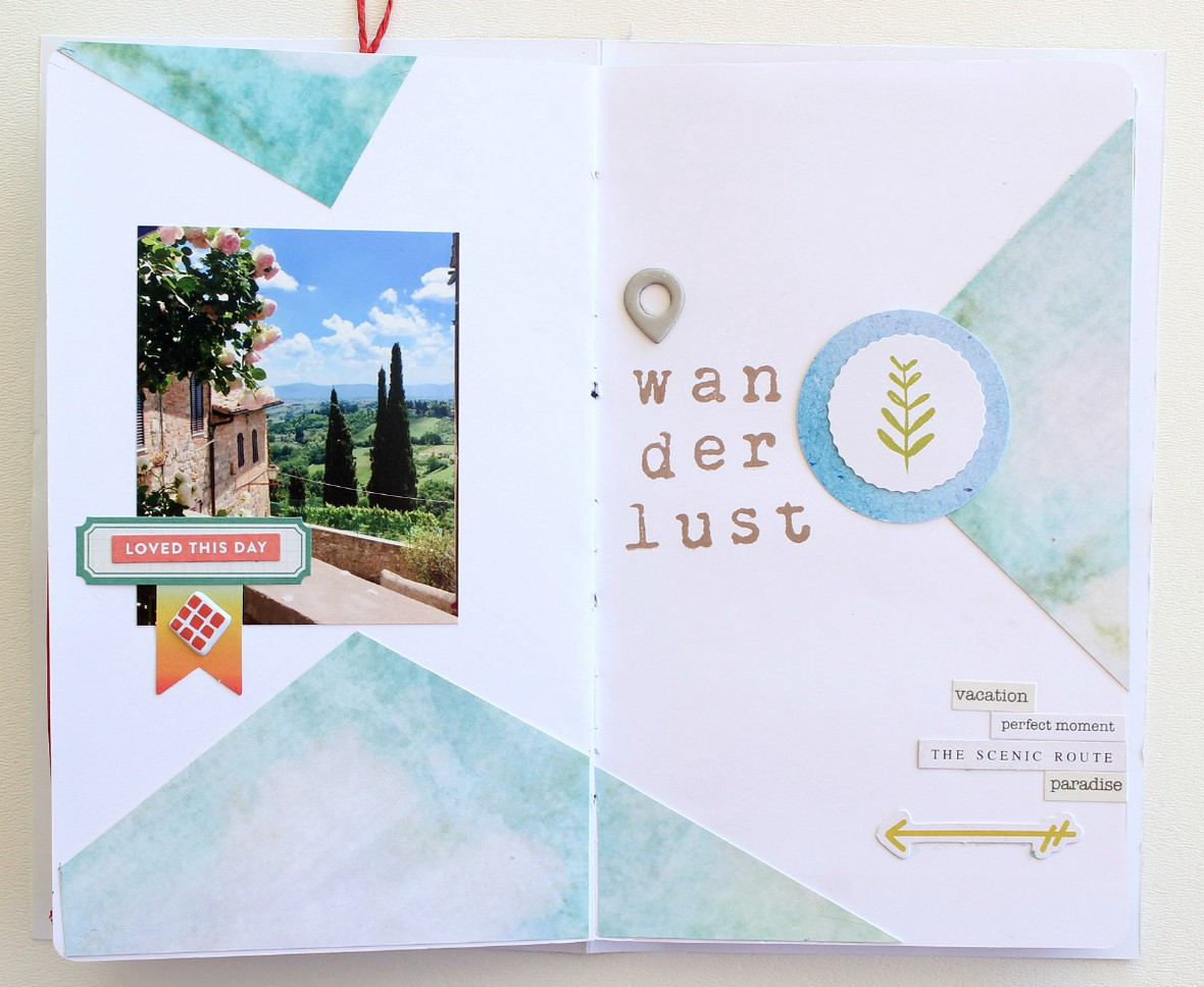Travelersnotebook italywanderlust original