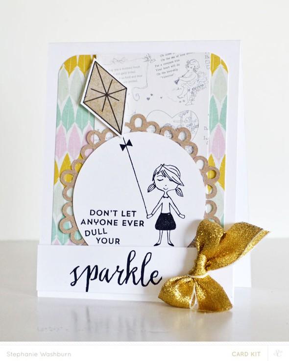 Card main sparkle